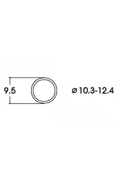 Roco 40074 Бандажи для колёс 10,3–12,4mm 10шт 1/87