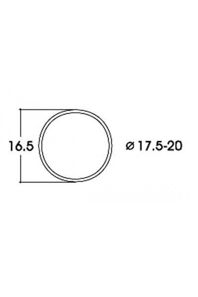 Roco 40077 Бандажи для колёс 17,5–20,0mm 10шт 1/87