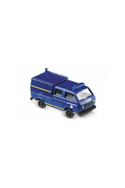 Roco 4120 VW T3 Doppelkabine THW 1/87