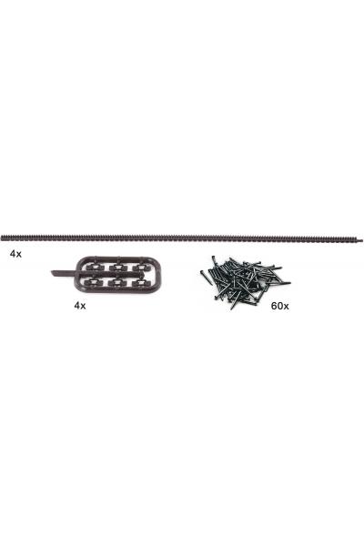 Roco 42602 Комплект зубчатый рельс ROCO LINE  Null Epoche 1/87