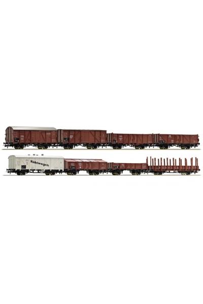 Roco 44003 Набор вагонов DRG 8шт Epoche II 1/87