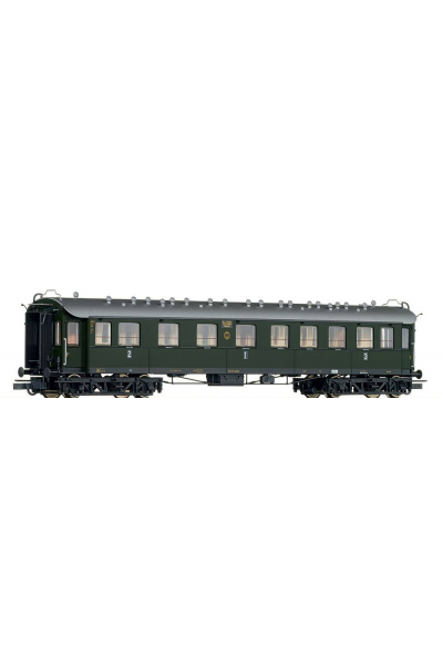 Roco 45585 Вагон пассажирский ABC4u 1/2/3кл DRG Epoche II 1/87