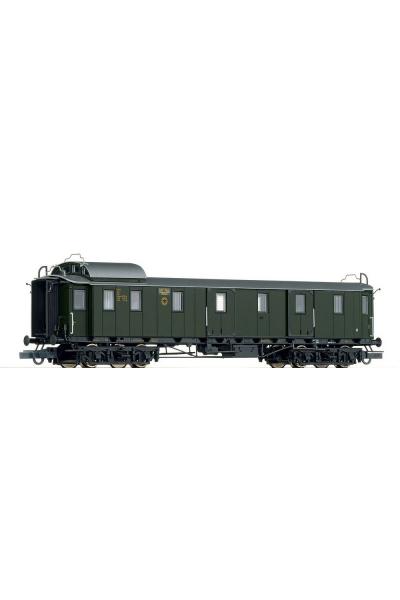 Roco 45587 Вагон пассажирский Pw4 DRG Epoche II 1/87
