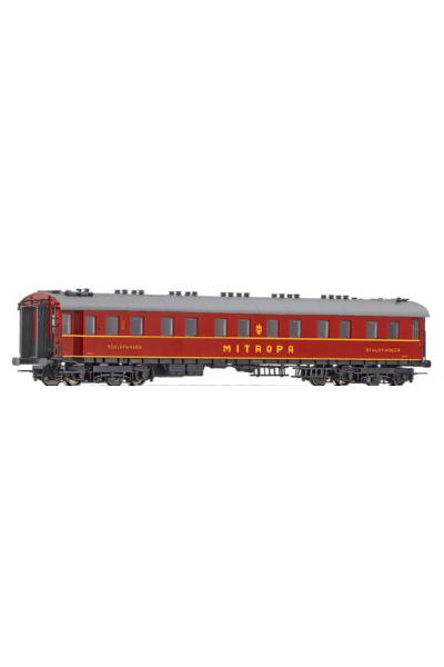 Roco 45687 Вагон пассажирский WL4u-28 Mitropa DRG Epoche II 1/87