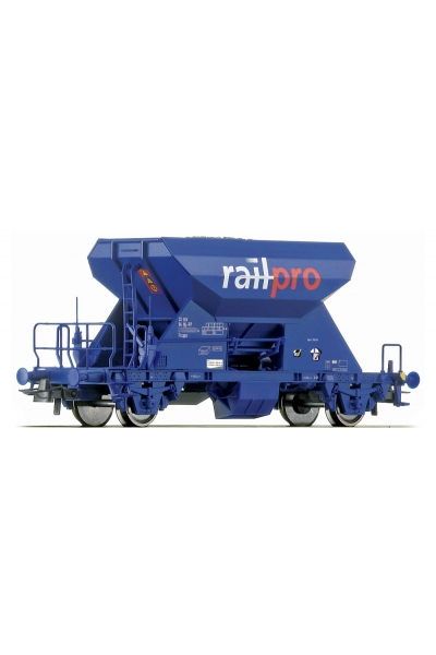 Roco 46683 Вагон для баласта Railpro PRIVAT Epoche V 1/87