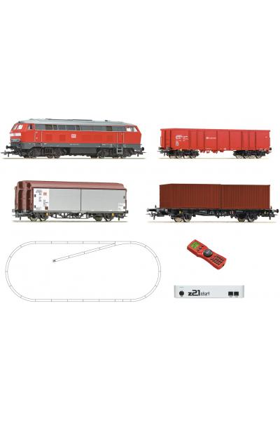 Roco 51312 Цифровой стартовый набор BR 218 DB AG Epoche VI 1/87 RO