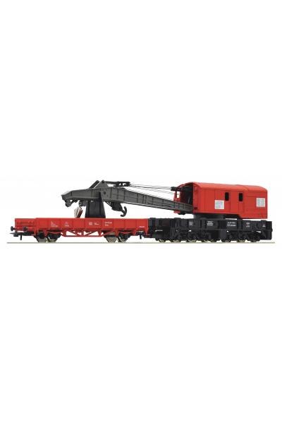 Roco 56240 Кран с платформой DB AG Epoche V 1/87