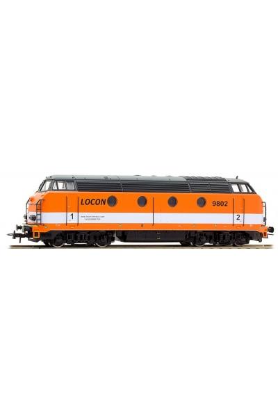 Roco 62779 Тепловоз 9802 LOCON (Benelux BV) Epoche VI 1/87