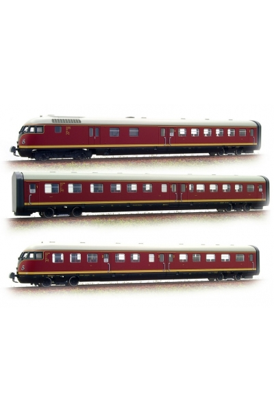 Roco 63130 Дизельпоезд VT12.5 DB Epoche III 1/87