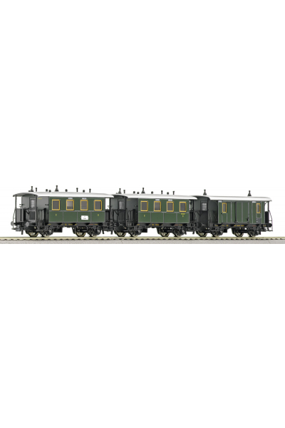 Roco 64048 Набор вагонов 3шт K.Bay.Sts.B Epoche I 1/87