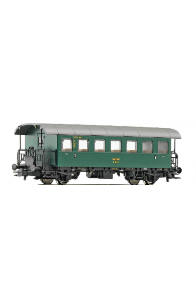 Roco 64246 Вагон пассажирский Typ N28 3кл DRG Epoche II 1/87