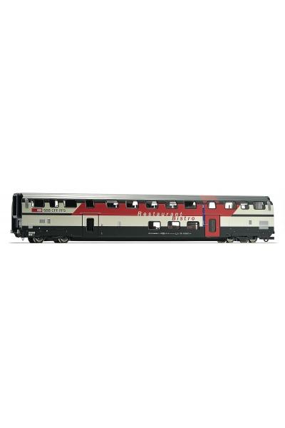 Roco 64854 Вагон пассажирский Typ WRB IC 2000 SBB/CFF/FFS Epoche V-VI 1/87 RO