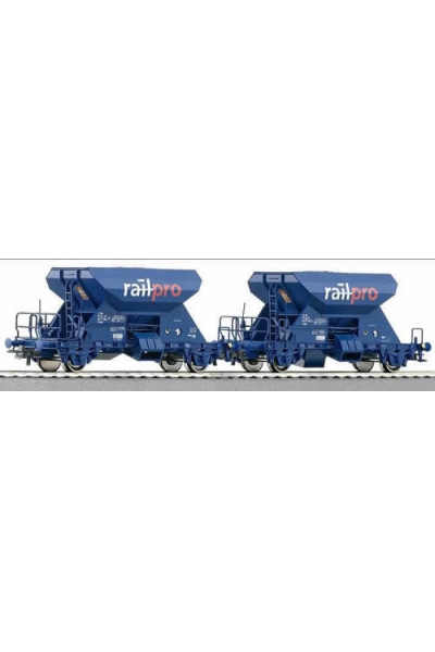 Roco 66006 Набор вагонов для баласта Railpro PRIVAT Epoche V 1/87