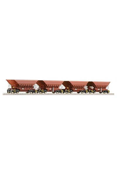 Roco 66079 Набор вагонов  LKAB Epoche V 1/87