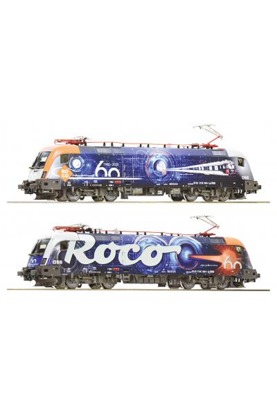 Roco 70485 Электровоз Rh1116 199-1 60 Jahre ROCO OBB Epoche VI 1/87