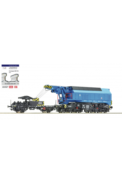Roco 73038 Железнодорожный кран EDK 750 CSD ЗВУК DCC Epocha IV 1/87