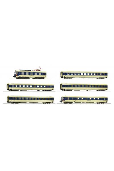 Roco 73057 Электропоезд Rh 4010.04 OBB ЗВУК DCC Epoche IV 1/87