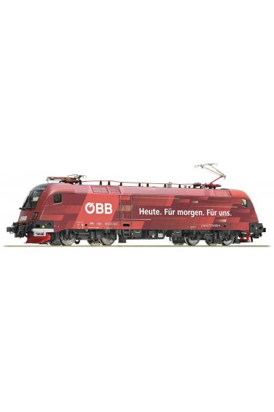 Roco 73267 Электровоз 1116 225 OBB ЗВУК DCC Epoche VI 1/87 RO