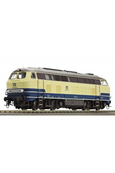Roco 73737 Тепловоз 210 004-8 DB Звук DCC Epoche IV 1/87