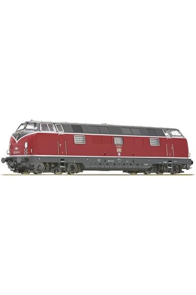 Roco 73820 Тепловоз 221 103-5 DB Epoche IV 1/87