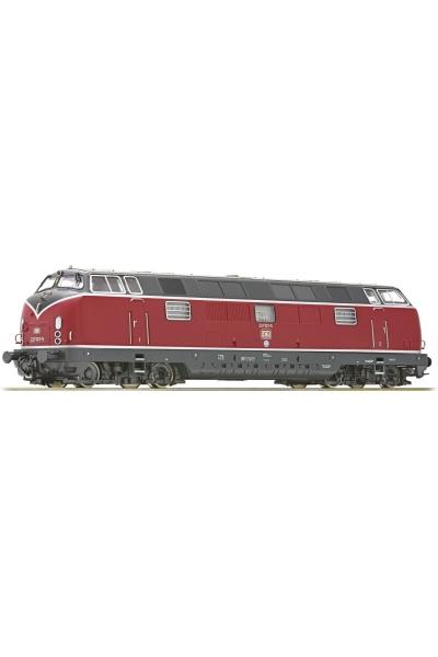 Roco 73821 Тепловоз 221 103-5 DB ЗВУК DCC Epoche IV 1/87