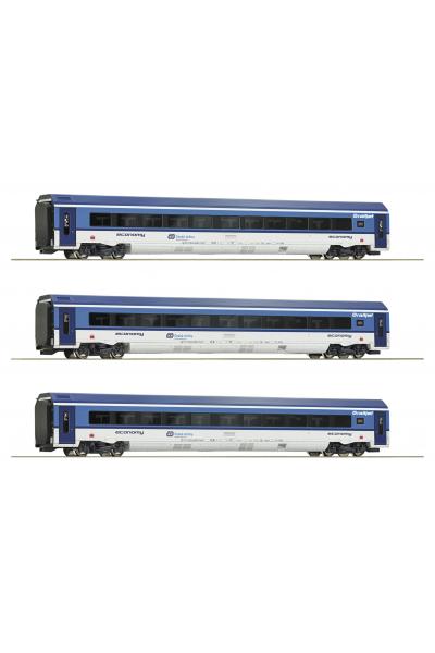 Roco 74067 Набор вагонов Railjet CD CD Epoche VI 1/87