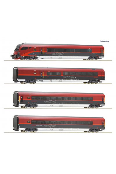 Roco 74083 Набор вагонов RJ 743 Salzburg-Wien Epoche VI 1/87 RO