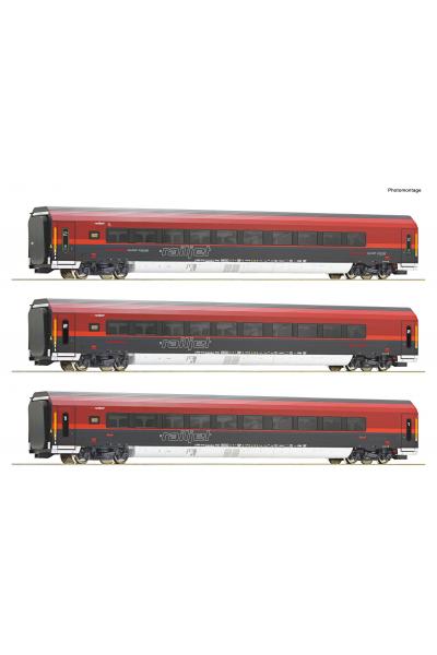 Roco 74086 Набор вагонов RJ 743 Salzburg-Wien Epoche VI 1/87 RO