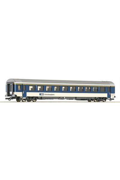 Roco 74390 Вагон пассажирский 1кл EW IV BLS Epoche V 1/87