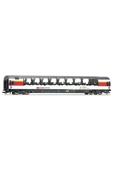 Roco 74402 Вагон пассажирский Gotthard Panorama Express SBB Epoche VI 1/87