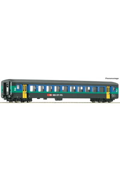 Roco 74567 Вагон пассажирский EW II SBB Epoche V-VI 1/87