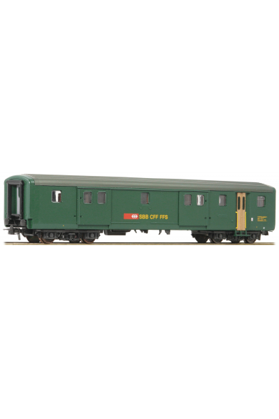 Roco 74574 Вагон багажный EW II Bauart D SBB Epoche V 1/87 RO