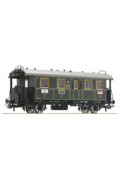 Roco 74900 Вагон пассажирский BCi-bay10 K.Bay.Sts.B. Epoche I 1/87 VN