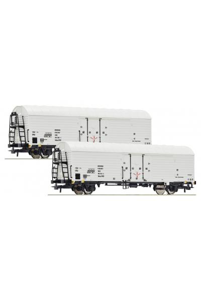 Roco 76035 Набор вагонов Gattung Ibbhqss DR Epoche IV 1/87