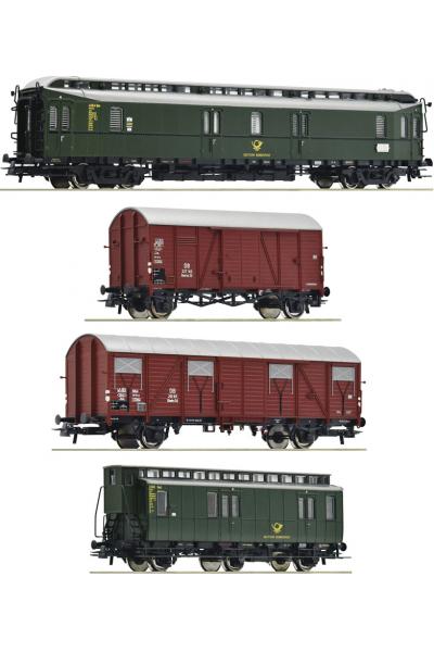 Roco 76036 Набор вагонов Postzug DB Epoche 1/87