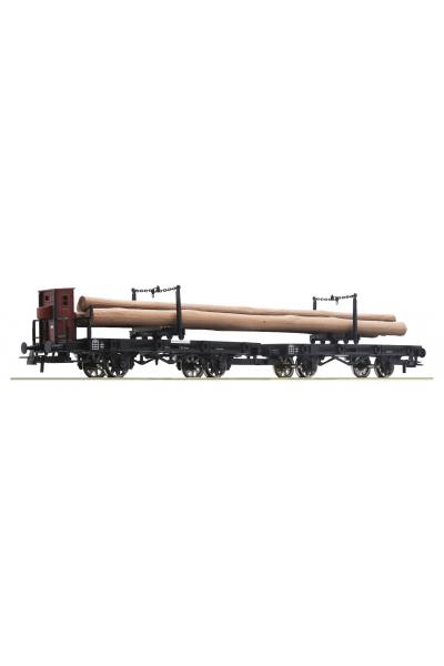Roco 76405 Набор вагонов с грузом K.P.E.V. Epoche I 1/87 VN