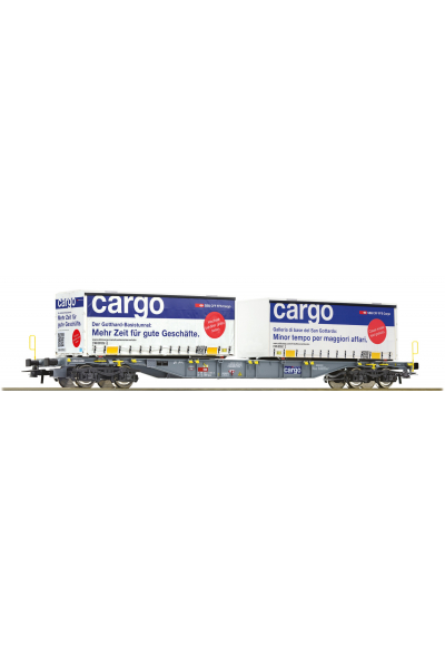 Roco 76622 Вагон платформа Sgns SBB Epoche VI 1/87 RO