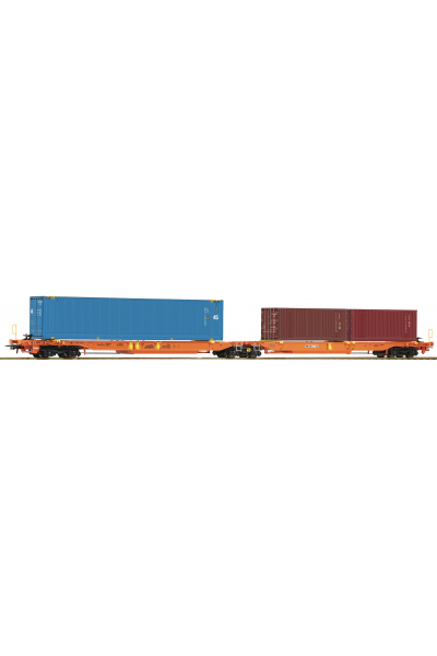 Roco 77360 Вагон Sdggmrs Privatbahn Epoche VI 1/87