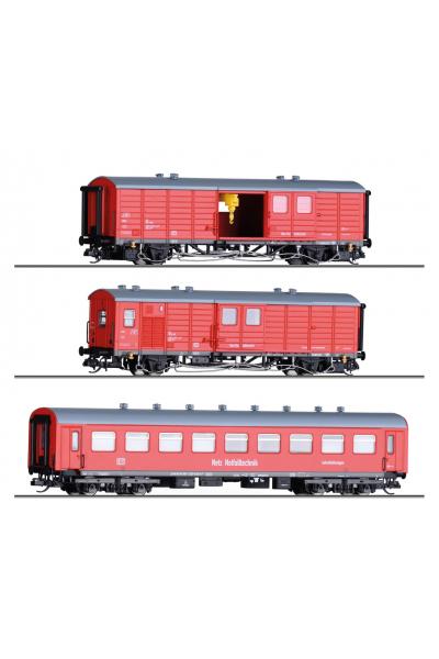 Tillig 01006 Набор вагонов ремонтный поезд DB AG Epoche VI 1/120