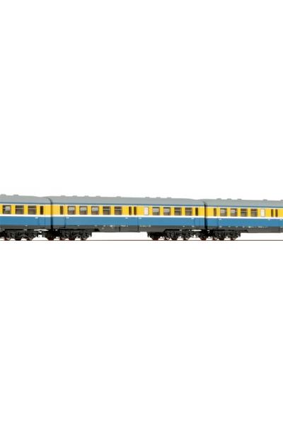 Tillig 01477 Набор вагонов 3шт Leipziger S-Bahn E5 DR Epoche III 1/120
