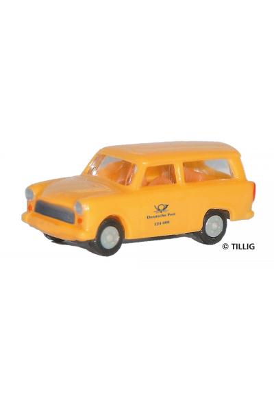 Tillig 08746 Автомобиль Trabant 601 Deutsche Post Epoche IV 1/120