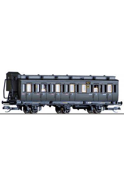 Tillig 13150 Вагон пассажирский 3 класс 63 173 DRG Epoche II 1/120