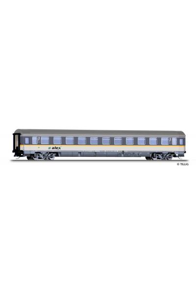 Tillig 16272 Вагон пассажирский Bmz Alex DLB GmbH PRIVAT Epoche VI 1/120