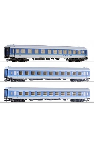 Tillig 501286 Набор пассажирских вагонов 3шт DR Epoche V
