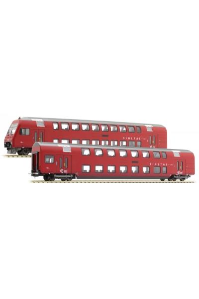 Tillig 70006 Набор вагонов Sihltalbahn SZU Epoche V-VI 1/87