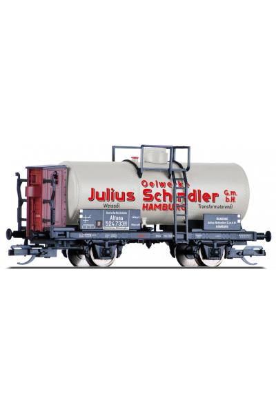 Tillig 95859 Вагон цистерна Olwerke Julius Schindler DRG Epoche II 1/120