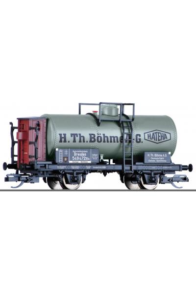 Tillig 95860 Вагон цистерна H. Th. Buhme AG DRG Epoche II 1/120