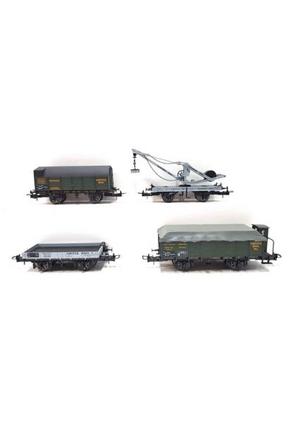 Trix 21250 Набор вагонов Torf-Transport  K.Bay.Sts.E.B. Epoche I 1/87