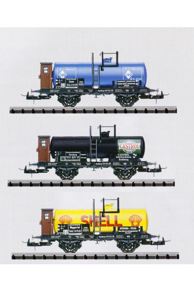 Trix 23931 Набор вагонов DRG Epoche II 1/87
