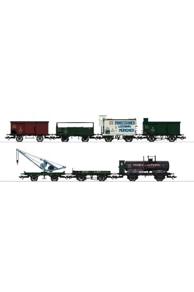 Trix 24114 Набор вагонов K.Bay.Sts.B. Epoche I 1/87